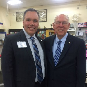 Rep. Bryan Terry co-sponsors minority outreach event with Presidential candidate Ted Cruz's father.