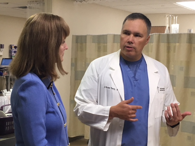 Rep. Bryan Terry Hosts Speaker Beth Harwell For Saint Thomas Rutherford Hospital Tour