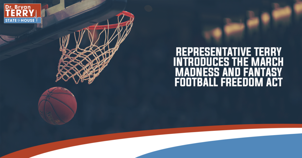 Terry Introduces March Madness & Fantasy Football Freedom Act